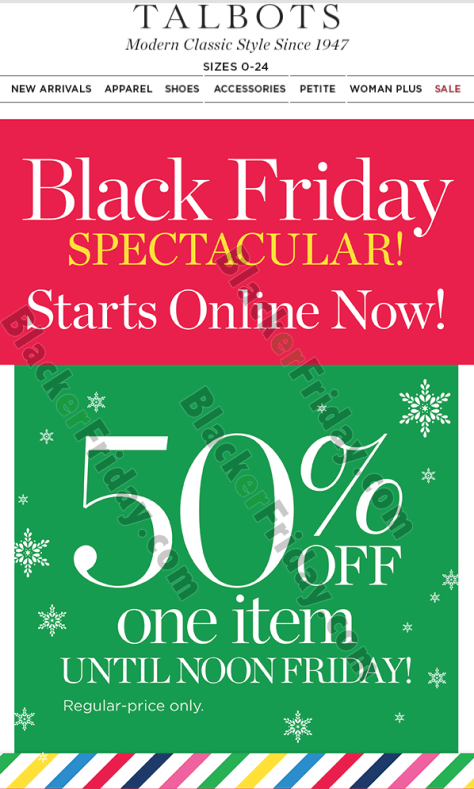 talbots outlet coupon