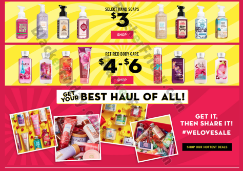 After Christmas Deals.Bath Body Works After Christmas Sale 2019 Blackerfriday Com