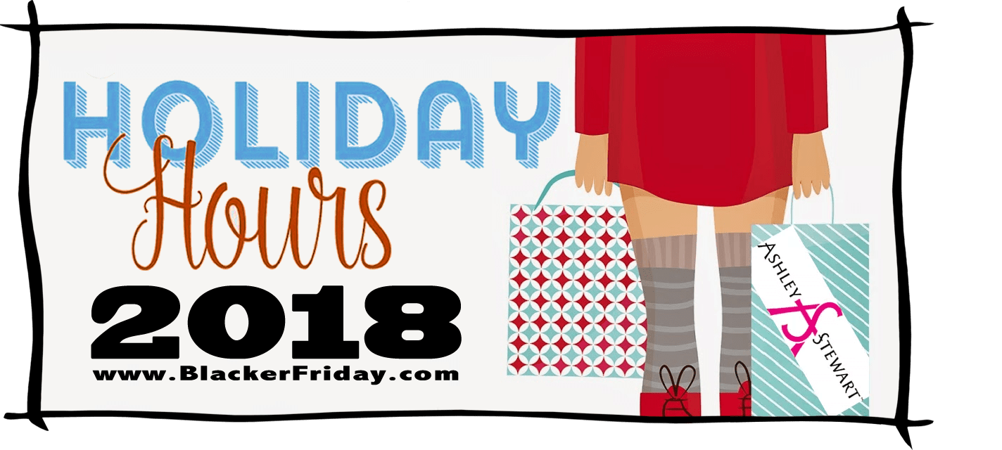 Ashley Stewart Black Friday Store Hours 2018