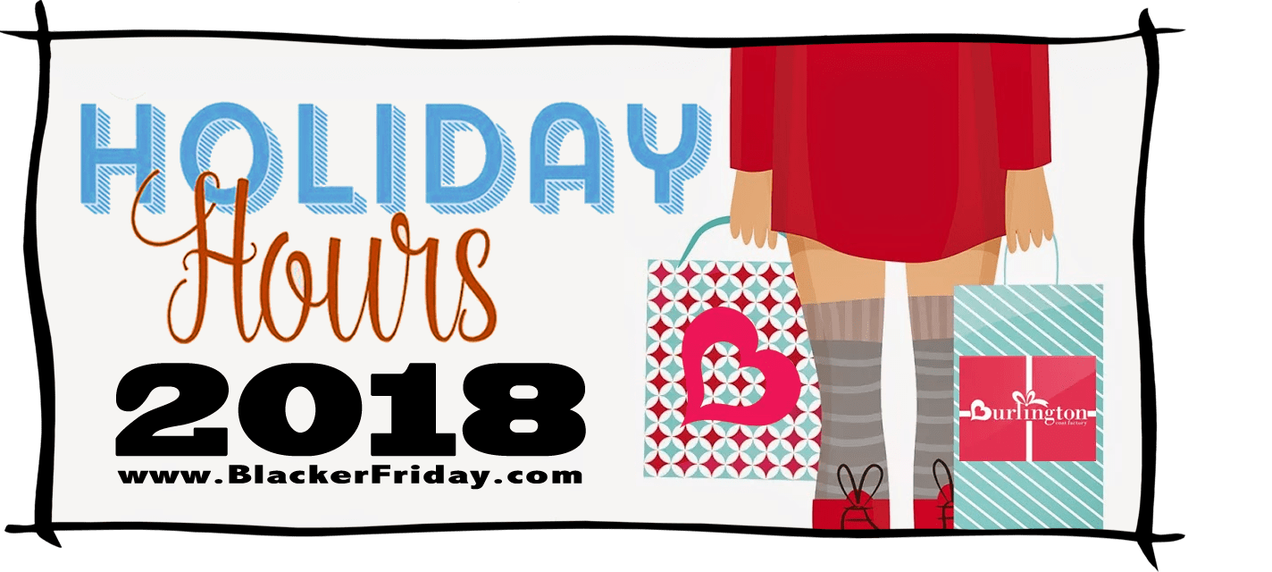 Burlington Coat Factory Black Friday Store Hours 2018