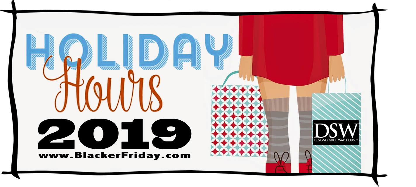 DSW Black Friday Store Hours 2019