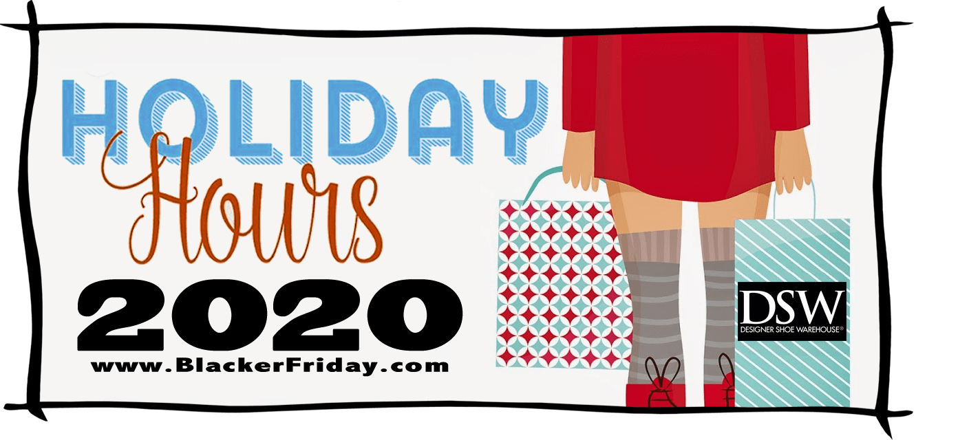 DSW Black Friday Store Hours 2020