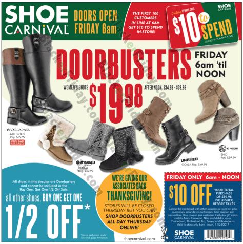 1f70d34376d04 Shoe Carnival Black Friday 2019 Sale   Deals - BlackerFriday.com
