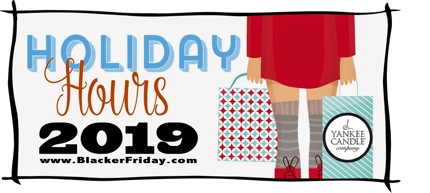Yankee Candle Black Friday Store Hours 2019