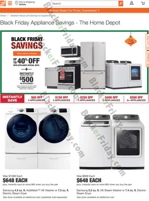 Samsung Washer Amp Dryer Black Friday 2019 Sale Amp Deals