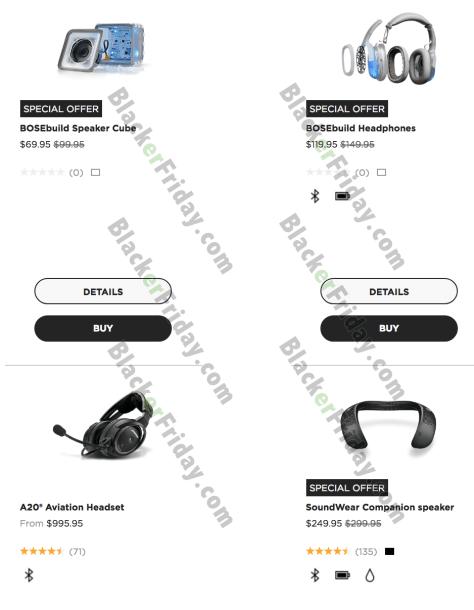 858f76b387d Bose Black Friday 2019 Sale & Deals - BlackerFriday.com