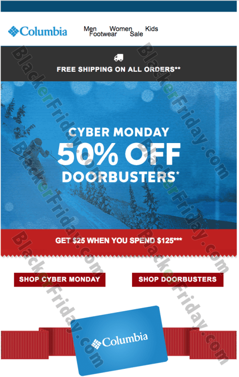 afcff437b85679 What's new outdoor gear are you picking up at Columbia's Cyber Monday sale  this year? Let us know in the comments section (located at the bottom of  the ...