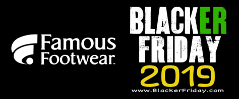 Famous Footwear Black Friday 2019 Sale & Deals