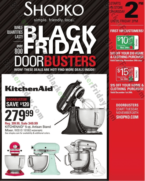 Kitchenaid Black Friday 2016 Amazon: KitchenAid Mixer Black Friday 2019 Sales & Deals