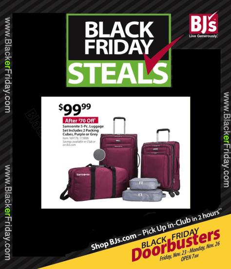 Samsonite Black Friday 2019 Sale & Luggage Deals - BlackerFriday com