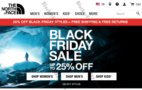 44b4a24aa The North Face Black Friday 2019 Sale & Deals - BlackerFriday.com