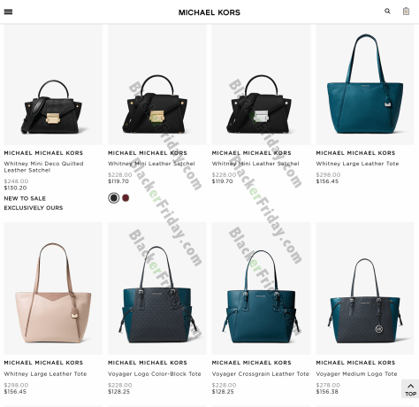 ff68122e2239 What are you planning on buying at Michael Kors during their end of year  sale  Maybe the popular Ava Saffiano leather satchel  Or how about the  Kinley Pave ...