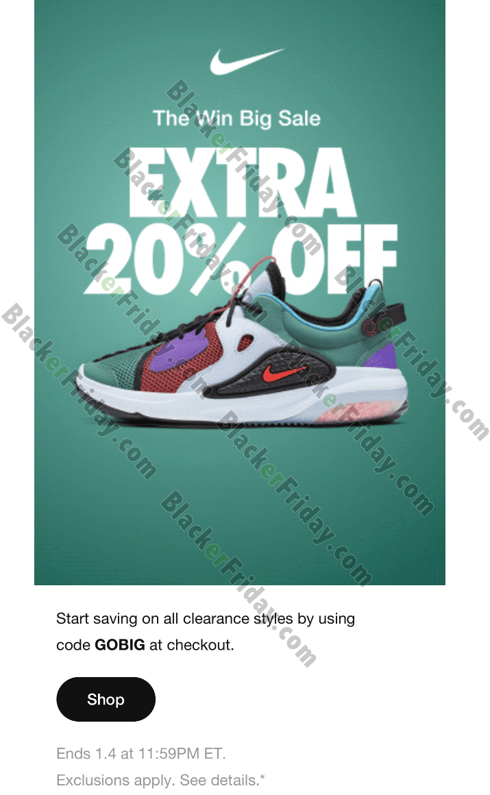 Nike After Christmas Sale 2020 - What