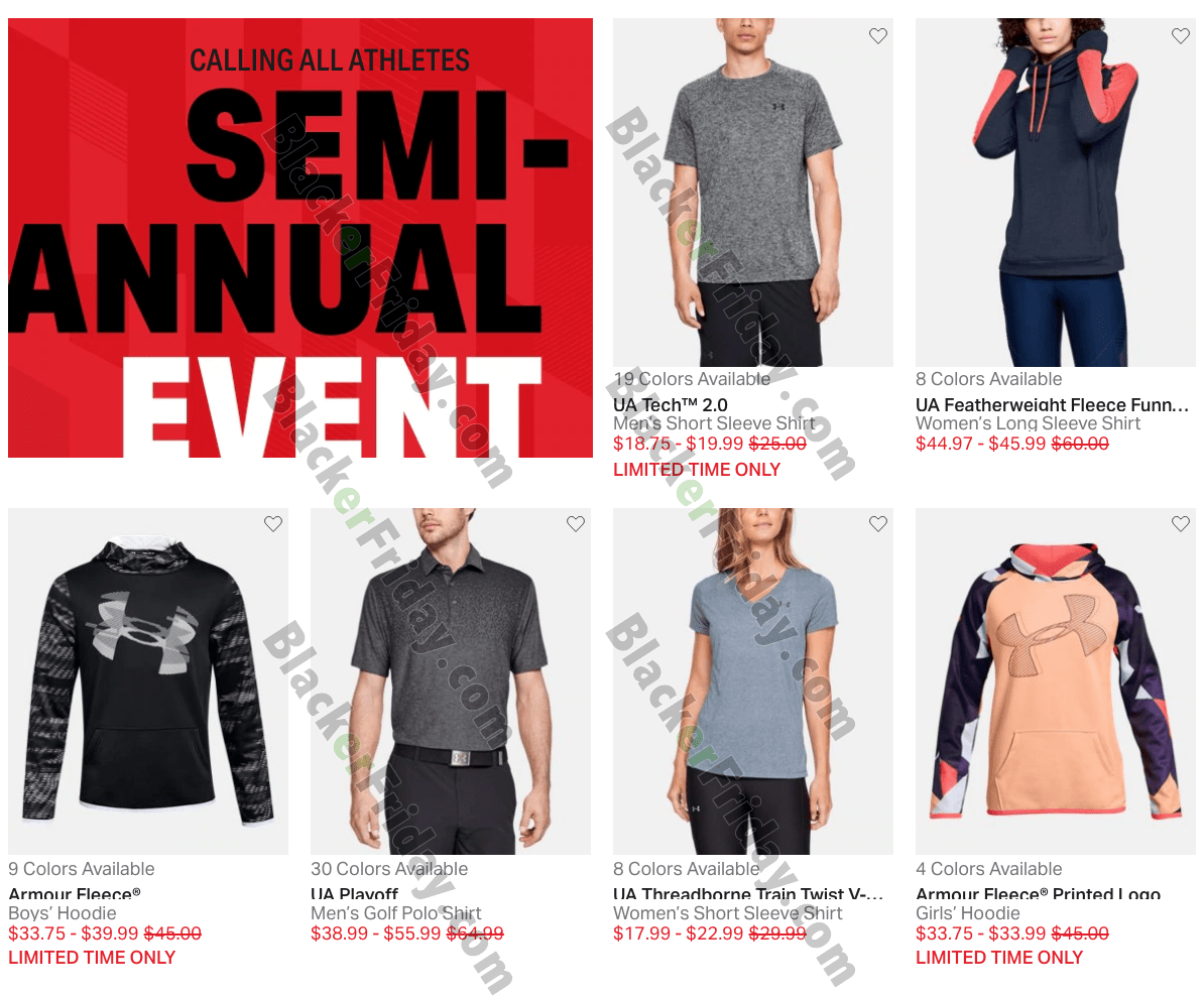 under armour sale items