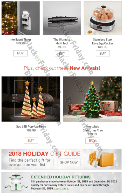 Black Friday Christmas Tree Deals 2019.Sharper Image Black Friday 2019 Sale Deals Blackerfriday Com