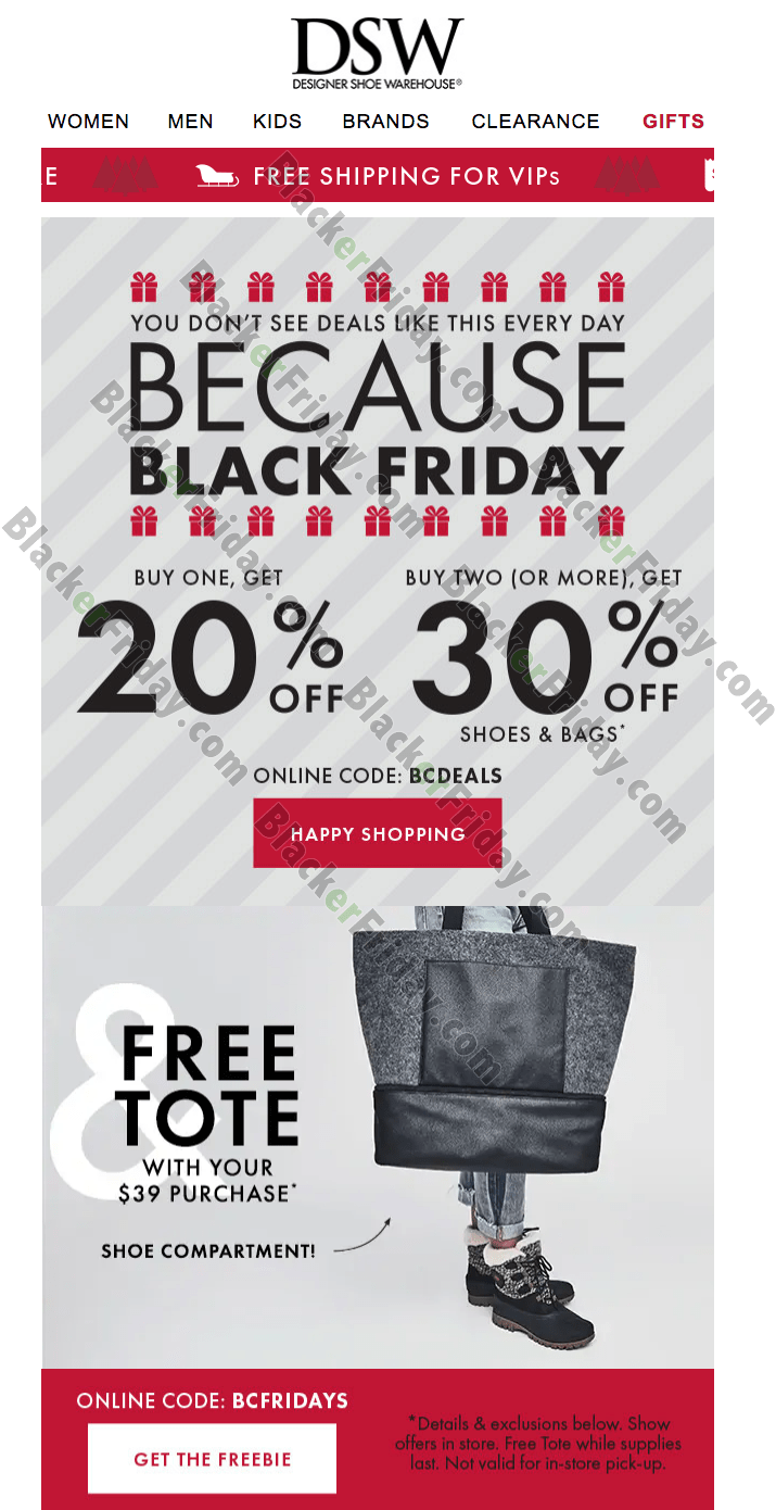 DSW Black Friday 2020 Sale - What to