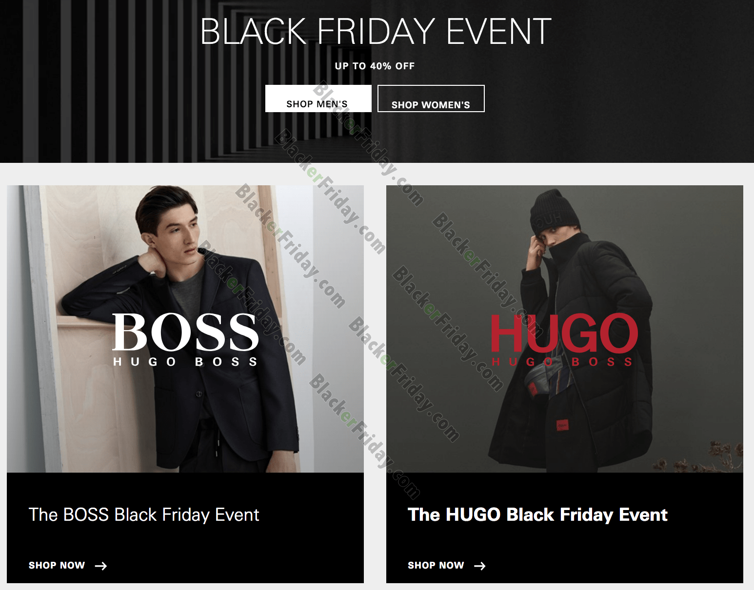 hugo boss sale