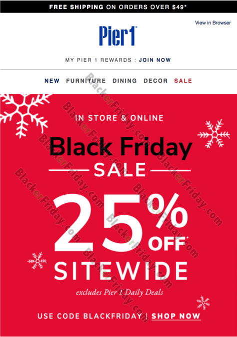 Pier 1 Imports Black Friday 2020 Sale What To Expect Blacker Friday