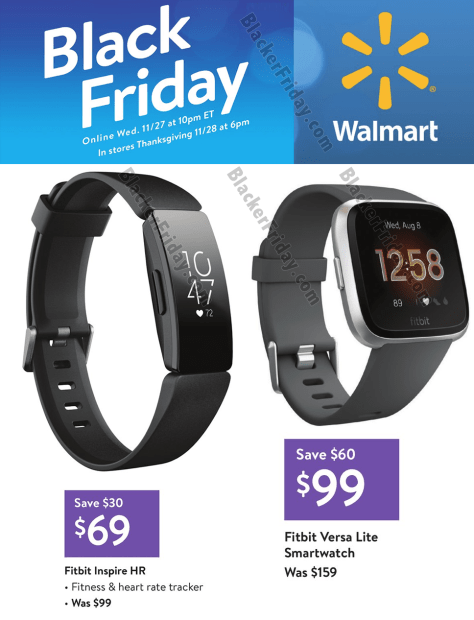Fitbit Black Friday 2020 Sale Deals Blacker Friday