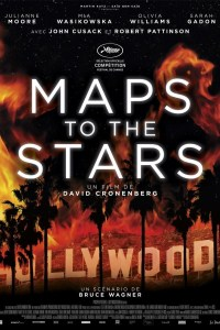 Poster for 2014 satirical drama Maps to the Stars