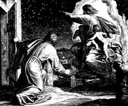 God shows Abraham the stars ...