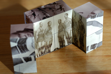 Black Fives Museum Cube