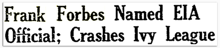 Frank Forbes headline