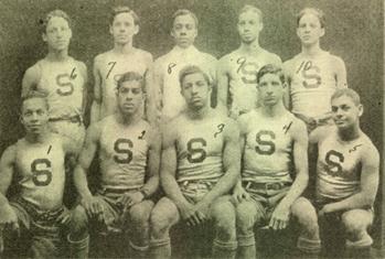 Smart Set Athletic Club basketball team of Brooklyn