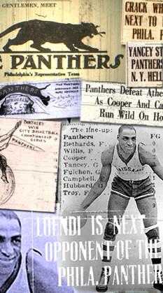 Philadelphia Panthers photo collage