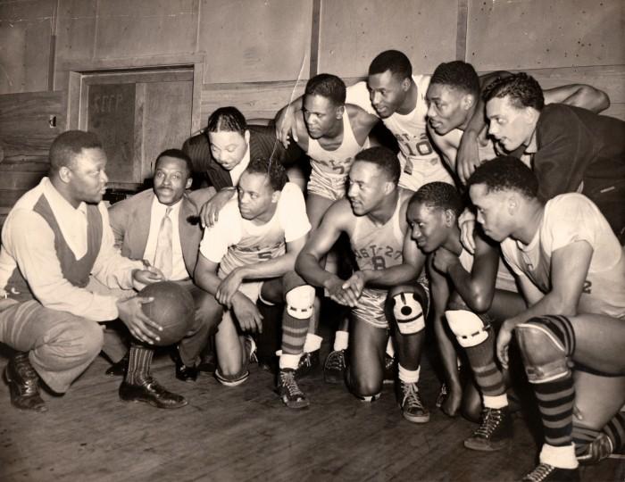 Akron, Ohio's American Legion Post 272 Basketball Team, City Champions