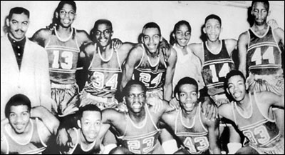 1955 Crispus Attucks High School, Indiana State High School Champions