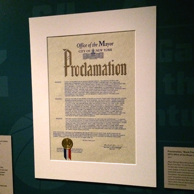"""Proclamation, """"Black Fives Day,"""" February 10, 2013"""