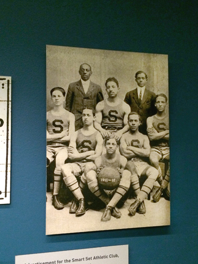 Basketball team, Smart Set Athletic Club of Brooklyn 1911 Reproduction