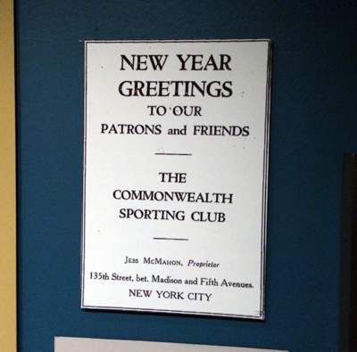 Commonwealth Sporting Club ad