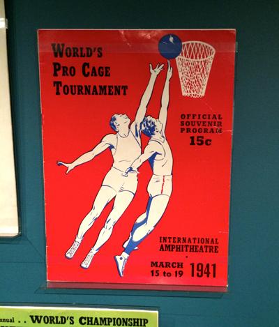 Official Souvenir Program, World's Pro Cage Tournament, World's Championship Basket Ball Tournament, March 15 to 19, 1941 | 1941