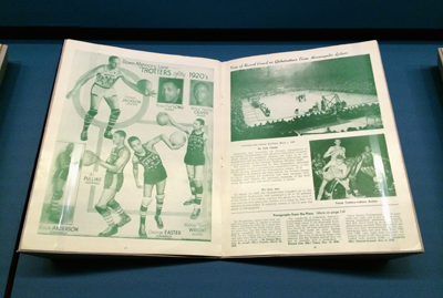 The Story of the Harlem Globetrotters, 1949-50 Edition, souvenir program