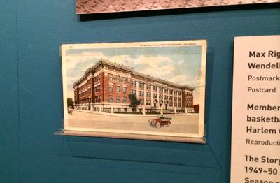 Wendell Phillips High School, 1919 Postcard