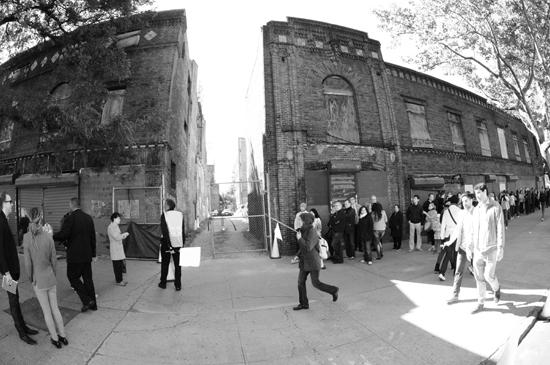 Exterior views of the Renaissance Ballroom in Harlem, New York City (Claude Johnson)