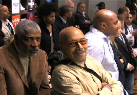 John Isaacs with Julius Erving and Charles Barkley
