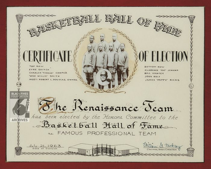 certificate hall of fame