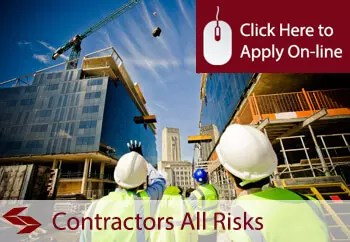 contractors all risks insurance defintion