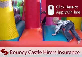self employed bouncy castle hirer liability insurance