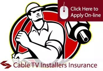 Self Employed Cable TV Installers Liability Insurance