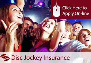 self employed disc jockey liability insurance