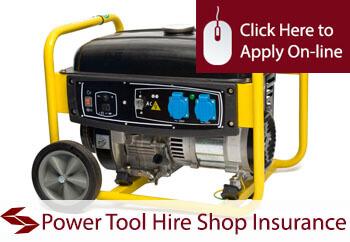 Power Tool Hire Shop Insurance