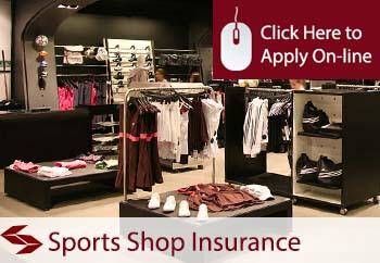 Sportswear Supplier Shop Insurance
