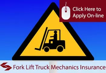 Fork Lift Truck Mechanics Public Liability Insurance
