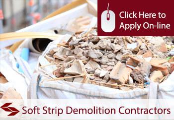 Self Employed soft strip demolition contractors Liability Insurance
