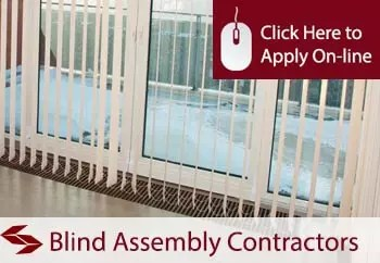 tradesman insurance for blind assembly contractors