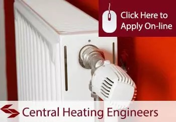 Self Employed Central Heating Services Engineers Liability Insurance